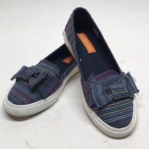 Rocket Dog Clarita Bow Ladies Shoes Denim Sz 7